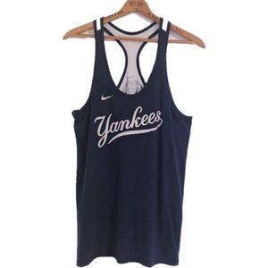 Nike New York Yankees Loose Fit Racer Tank Top